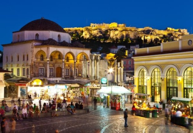 Monastiraki-Square-and-Acropolis-Athens-large